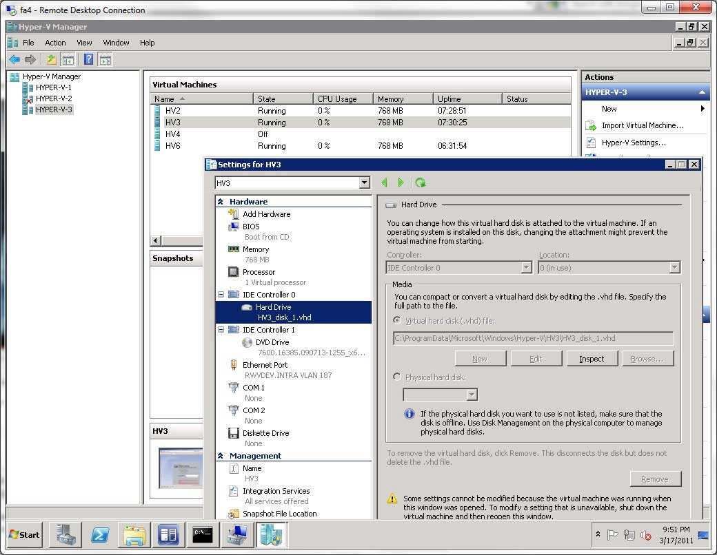Configuring virtual machines in Hyper-V to use DAS can save costs and increase performance for small environments.
