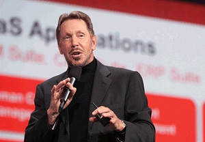 Oracle's Ellison is