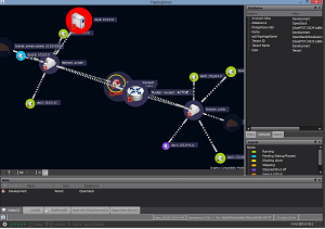 The Hyperglance topology live demo in action.