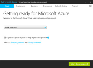 Microsoft Azure Virtual Machine Readiness Assessment does more than what the name implies.