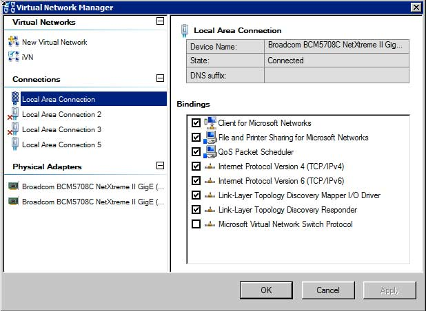 5Nine Manager's Virtual Network Editor