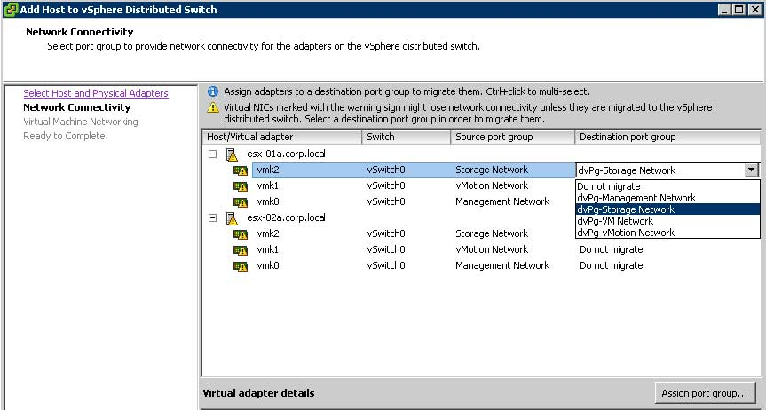 Deploying the vSphere Distributed Switch -- Virtualization Review