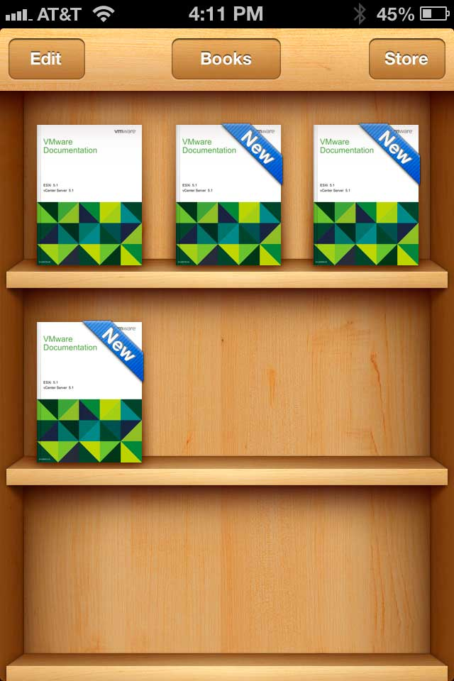 VMware vSphere Networking Guide in the Apple iBooks Library