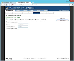 The domain configuration is set in the vCSA. EVBlog-4-29-2014-FigA.jpg