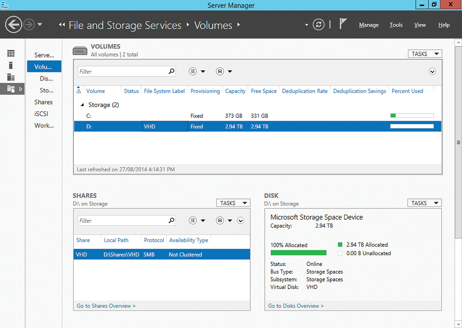 Microsoft's Scale-Out File Server Overcomes SAN Cloud
