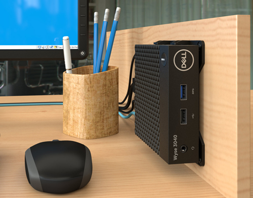 Beefy Processor Dropped Into New Dell Thin Client -- Virtualization