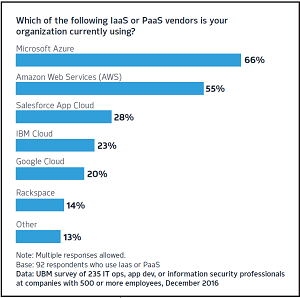 IaaS and PaaS Vendors