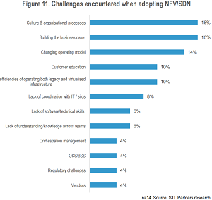 Key Challenges in Adopting NFV/SDN