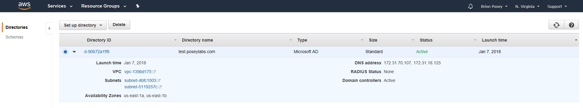 How To Create an AWS-Based Active Directory Forest