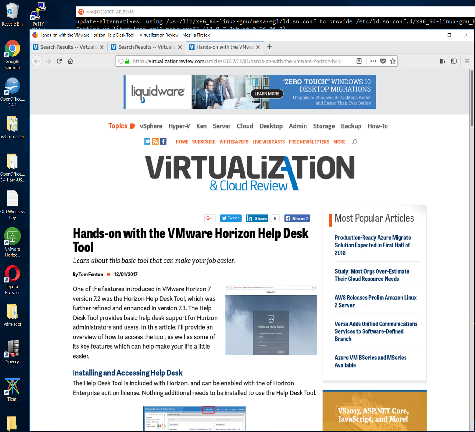 Hands-On with WSL: Running Graphical Apps -- Virtualization Review