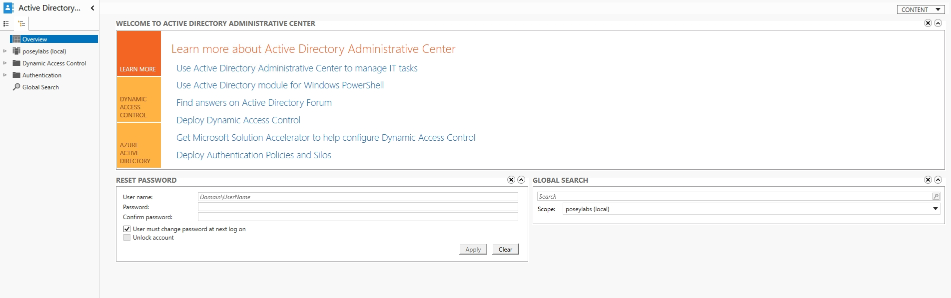 How To Access Group Policy Settings in an AWS Directory Service
