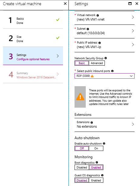 Step-by-Step: Creating VMs in Microsoft Azure
