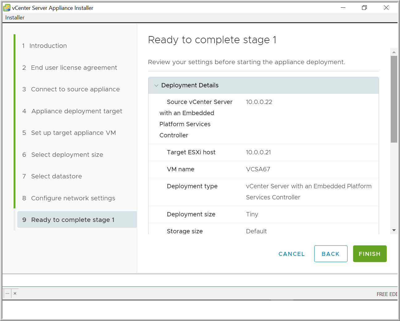 Step-by-Step: Upgrading to VCSA 6 7 -- Virtualization Review