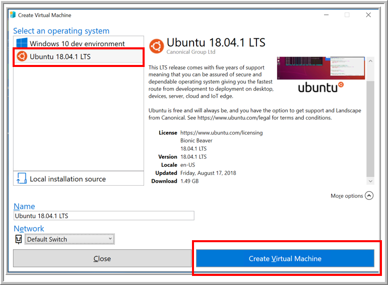 download ubuntu on virtual machine