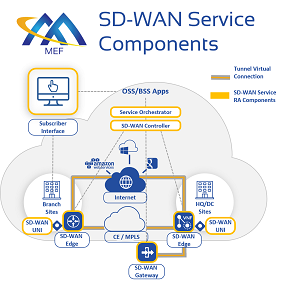SD-WAN Components