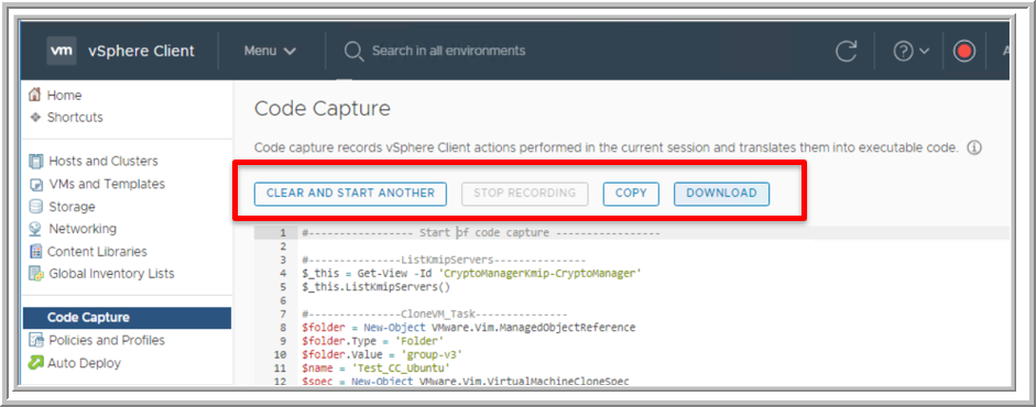 Drilling Down on VMware Code Capture -- Virtualization Review