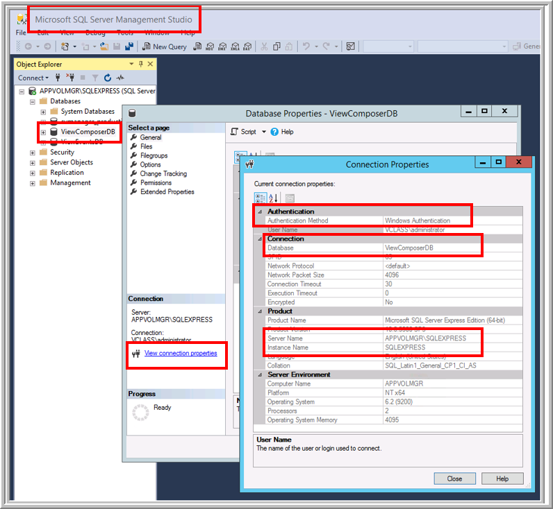 Connecting View Composer to a Remote Database -- Virtualization Review