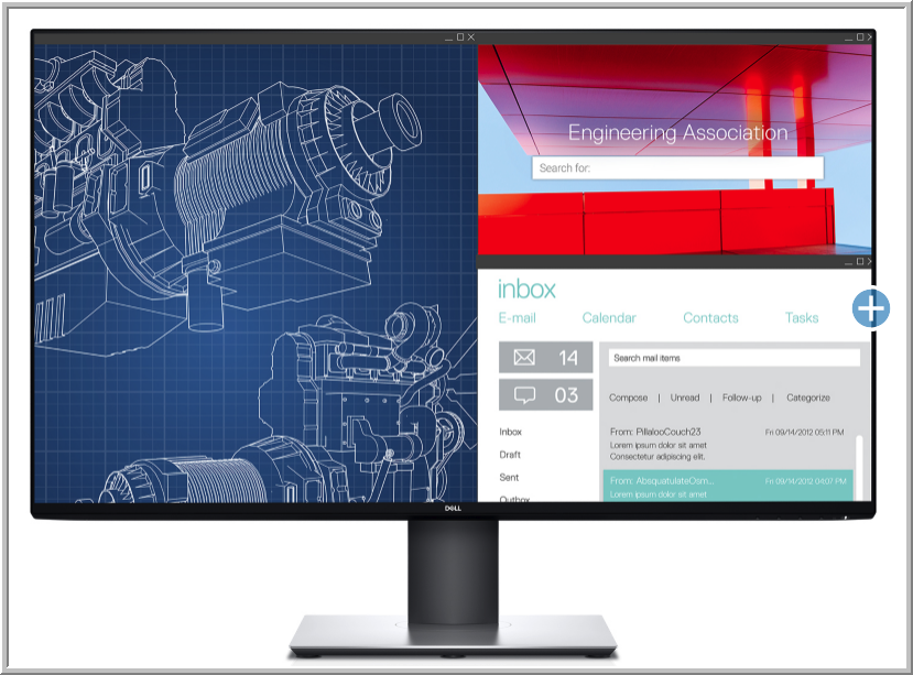 The Dell UltraSharp U3219Q Monitor with Built-in KVM Switch