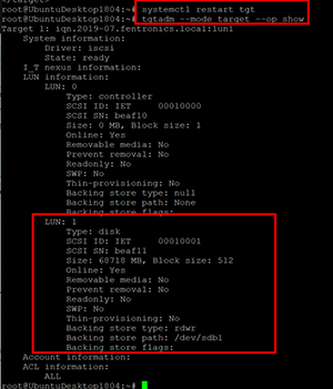 How To Use Linux for an ESXi iSCSI Server -- Virtualization