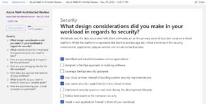 Well-Architected Security Assessment