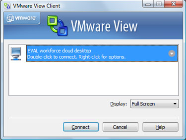 VMware View broker