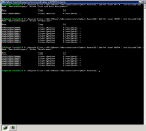 Taking, ahem, command of the annotation via the PowerCLI